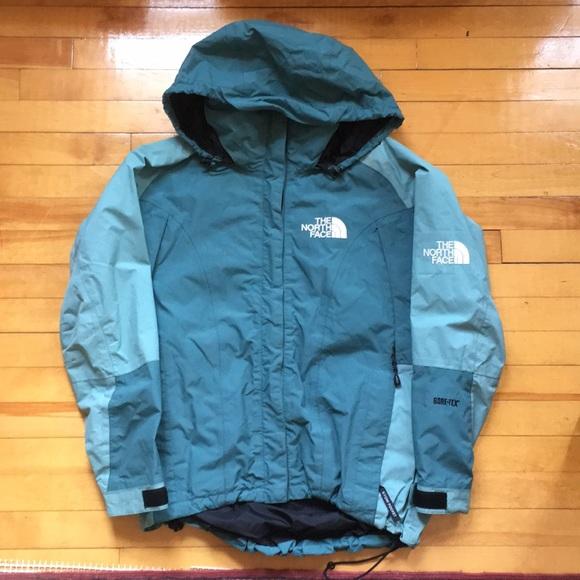 600724506 Vintage North Face Gore Tex jacket women's medium